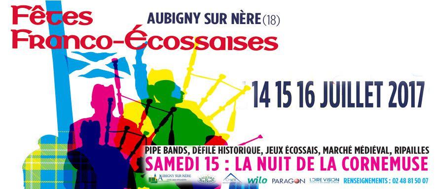 Fêtes Franco Ecossaises du 14 au 16 juillet 2017