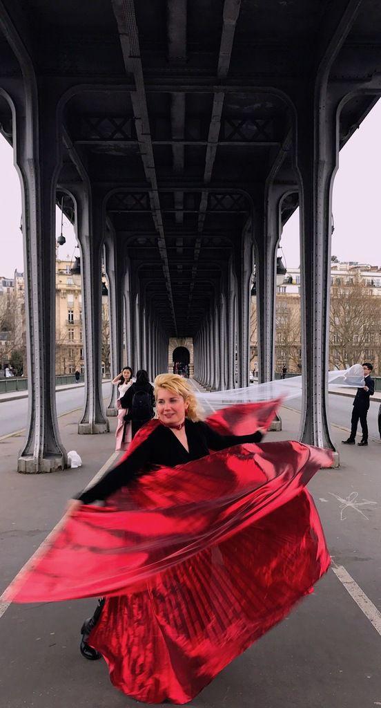 #VeronicaAntonelli #VipDivaTour au pont de #BirHakeim