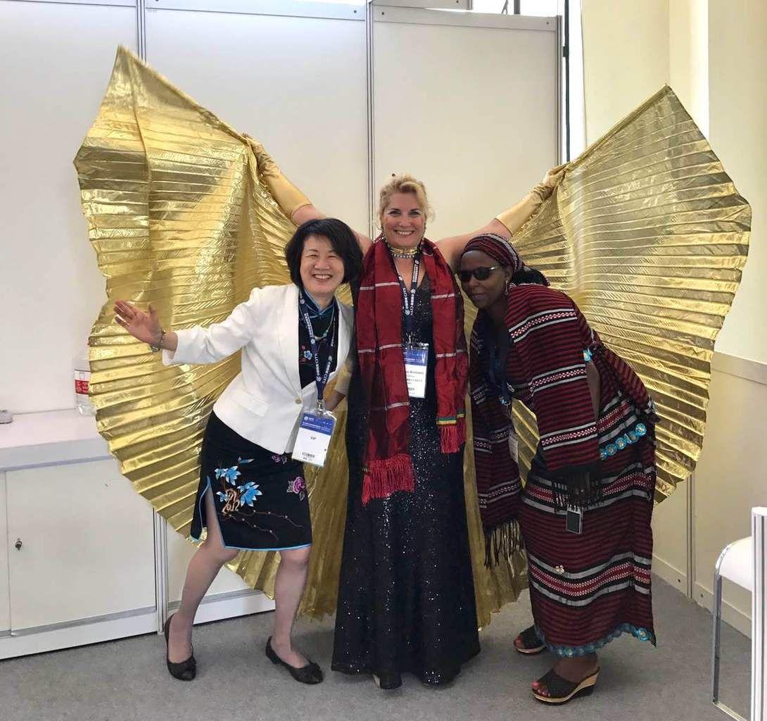Les ailes réunissent tous les continents: Asie / Afrique/ Europe Shanghai World Travel Fair #SWTF