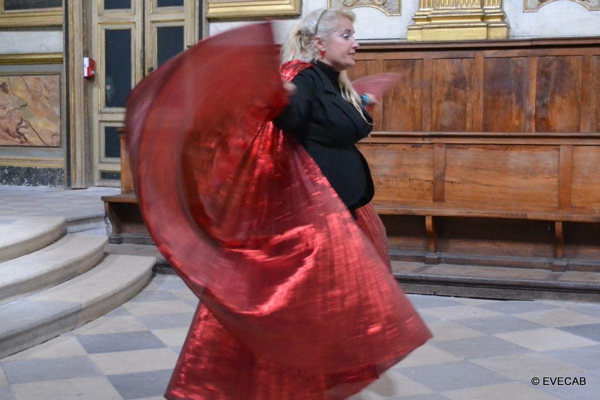 Toulouse Chapelle des Carmélites #ToulouseEnchantée avec les performances de Veronica Antonelli crédits @Evecab