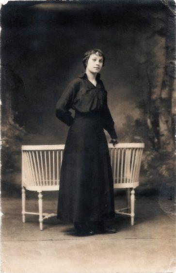 Alice PARRET en 1914 - Archives personnelles