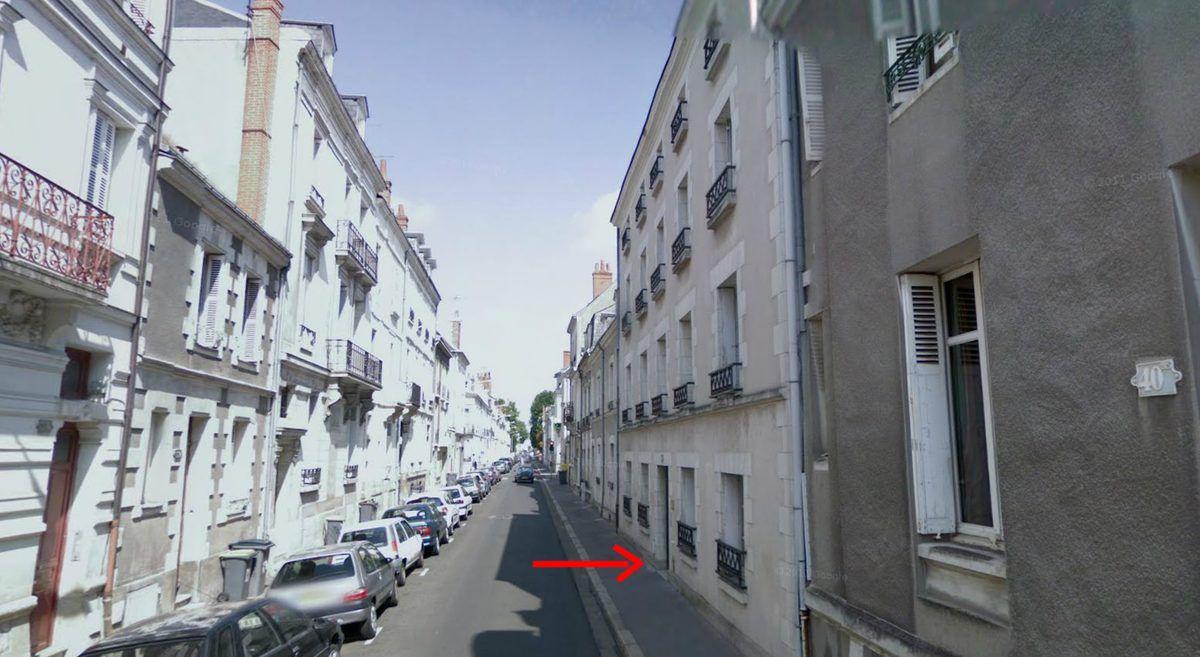 40 rue de Sébastopol à Tours, de nos jours. (cliquez pour agrandir)