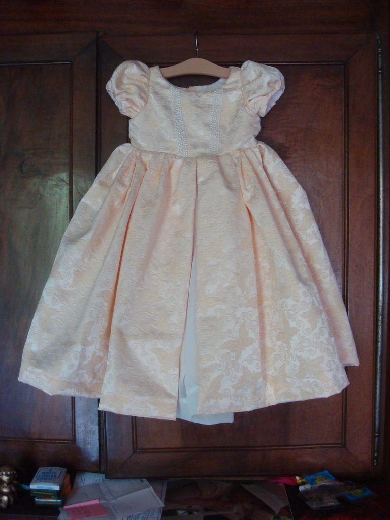 Une robe de princesse...