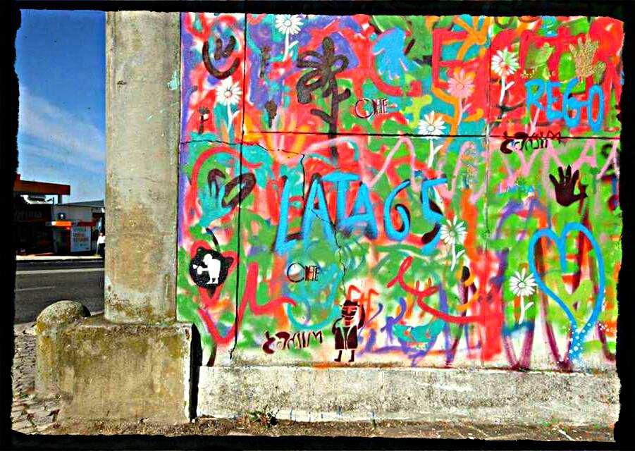 Street-Art du 3ème âge à Lisbonne !