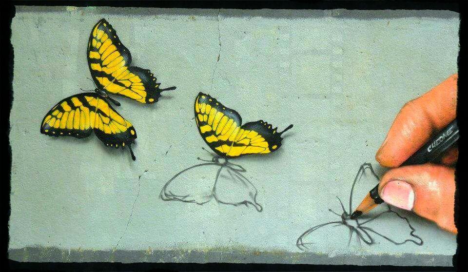 Cheone, l'italien qui attribue 3 lettres D au street art.