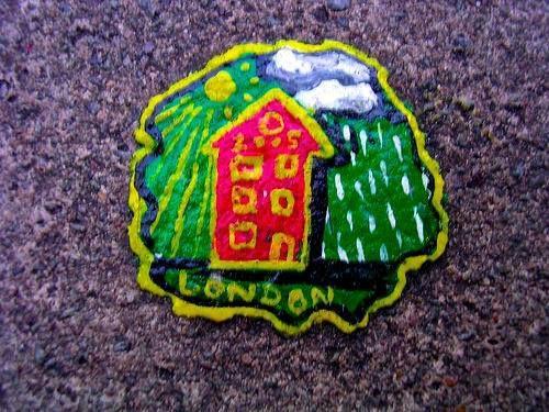 Focus sur l'environnement urbain avec le Chewing-Gum Art de Ben Wilson.