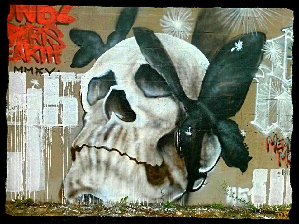 Les crânes du Street Art, en veux-tu en voilà !