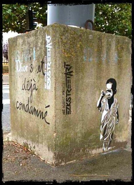 EZK, un street artist peut être engagé, insolant et poète ?