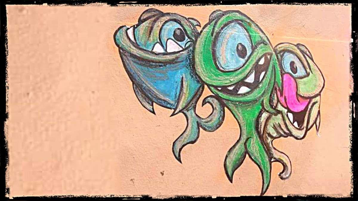 Lyon envahie par les petits monstres de Cap Phi. Attrapez-les tous !