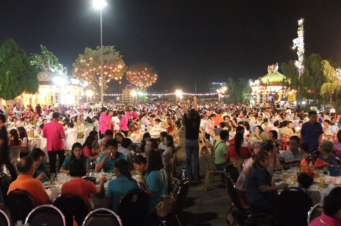 11 mars 2015&#x3B; Udonthani, Fête chinoise.
