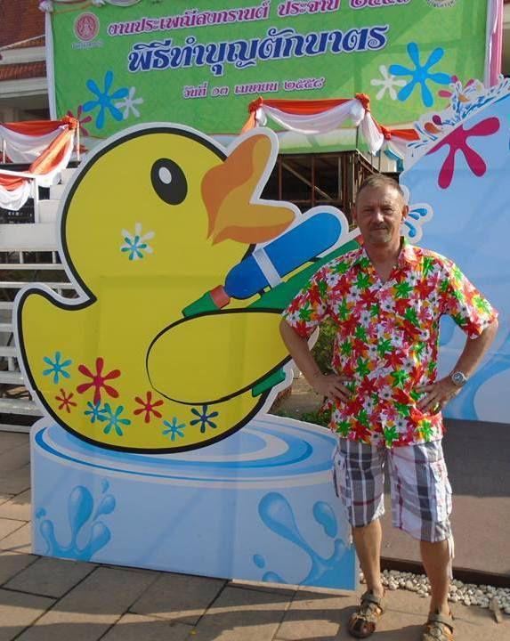 Thaïlande: Udonthani. Séjour d'Yvon (Journées du 13 au 18 avril 2015)