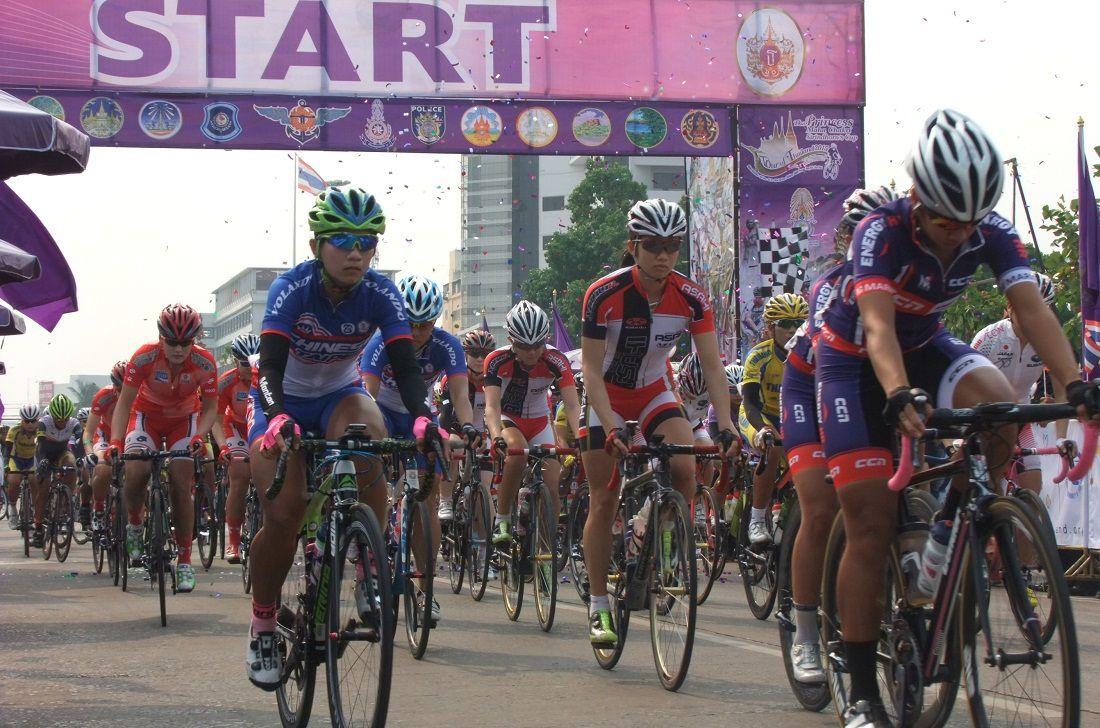 Tour cycliste féminin de Thaïlande, édition 2015.