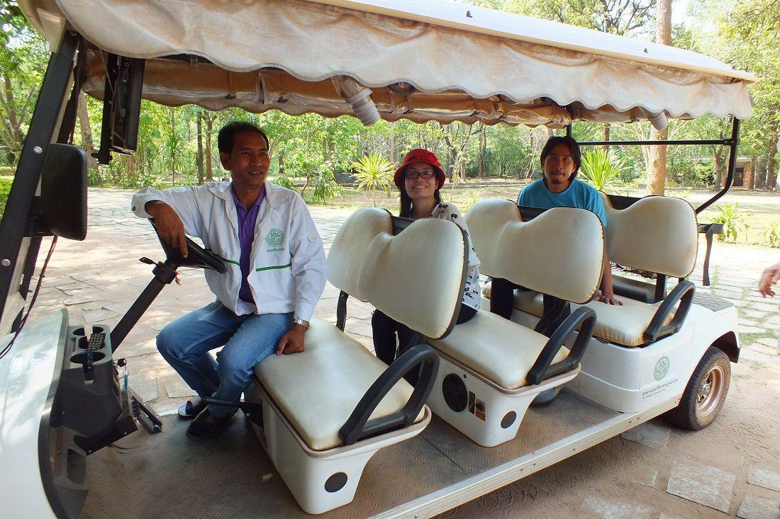3 mai 2015: Udonthani : Sortie au Parc historique « Phu Phra Bat »
