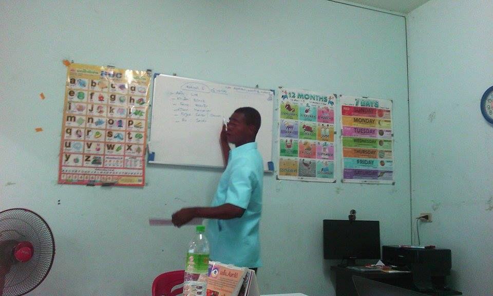 Thaïlande. Voici une ecole pour apprendre le français ou le thaï à Udonthani.