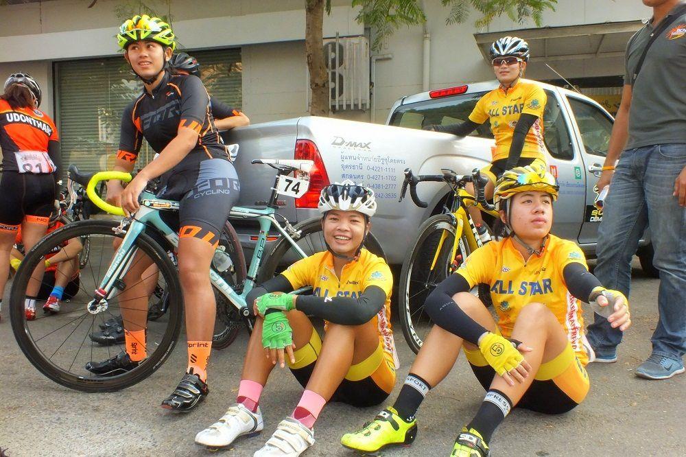 15 au 17 janvier 2016: Compétition cycliste du « Tour d'Udonthani »