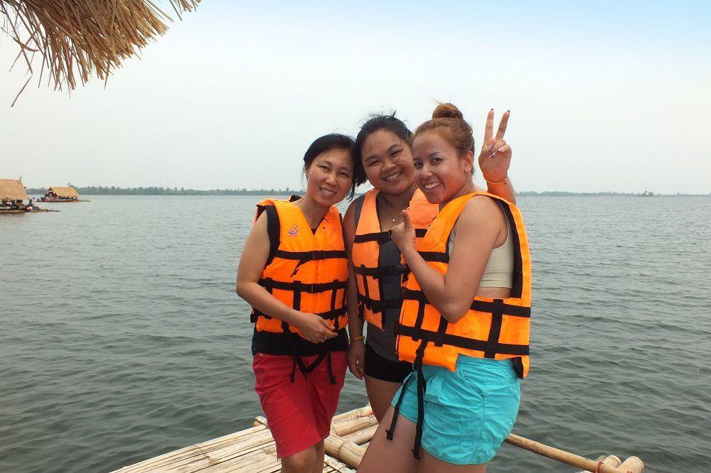 Dimanche 27 mars 2016 : Udonthani : Le club des 10 de sortie au « Nam Phan Lake »