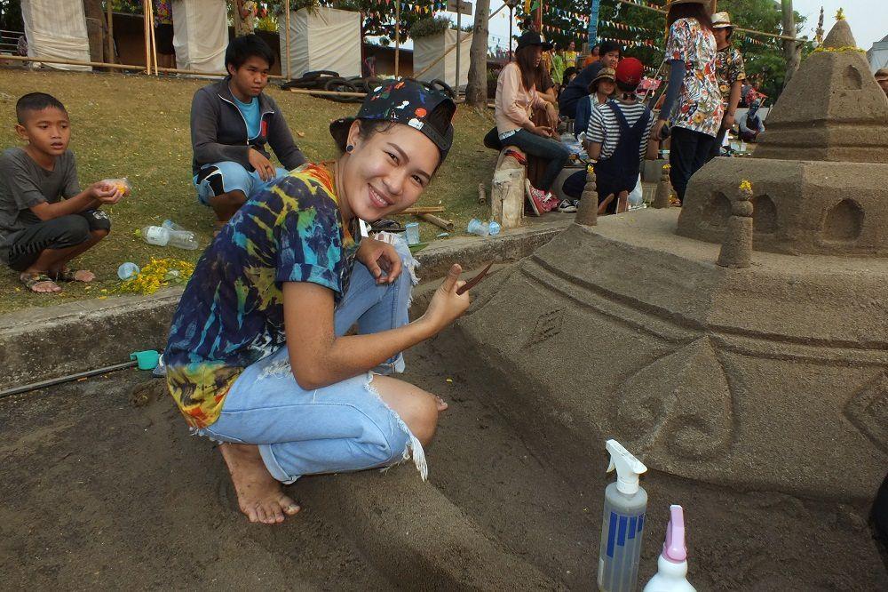 13 avril 2016 : Udonthani, Songkran 2016, la parade d'ouverture.