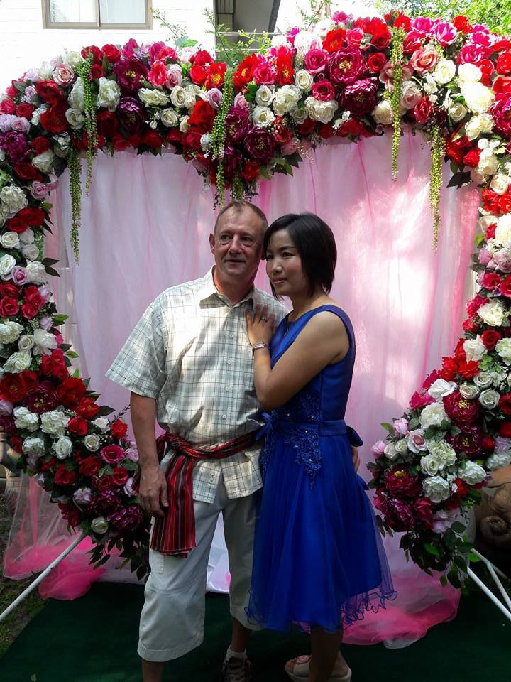 6 mai 2016: Udonthani : Mariage de votre serviteur.