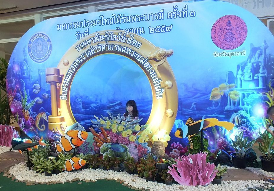 8 au 12 septembre 2016: Udonthani. Exposition au Central Plaza