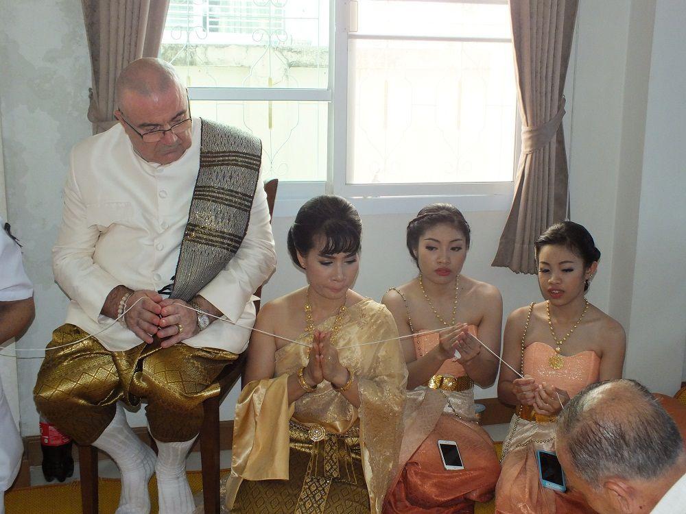 6 mai 2017: Udonthani, mariage de Patrick et Kop