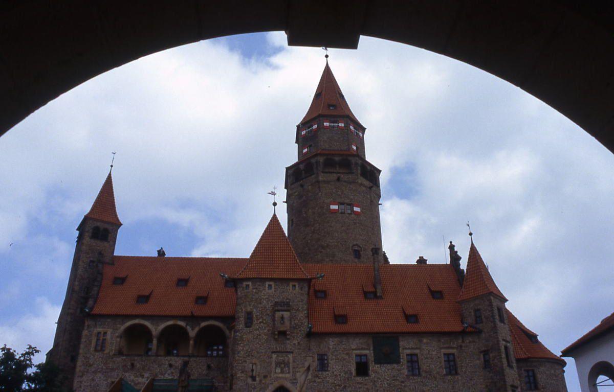 Le château de Bouzov