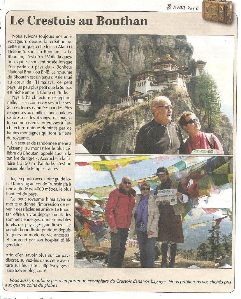 Bhoutan, la traversée de la terre du dragon