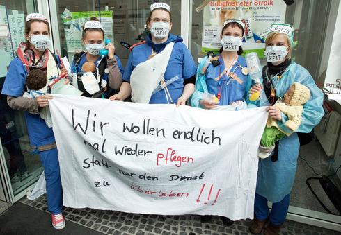 Grève historique aux hôpitaux de Berlin, « La Charité » : premiers succès.