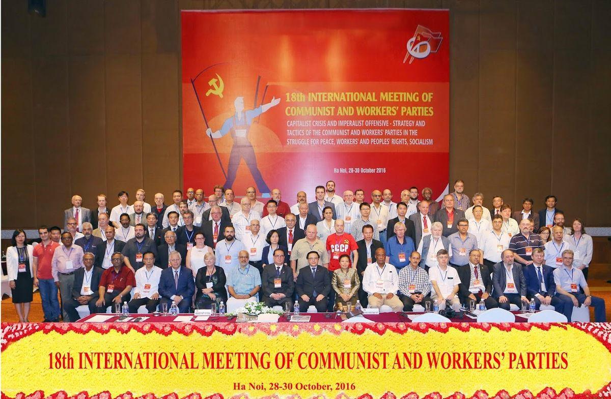 APPEL DE LA 18ème RENCONTRE INTERNATIONALE DES PARTIS COMMUNISTES ET OUVRIERS
