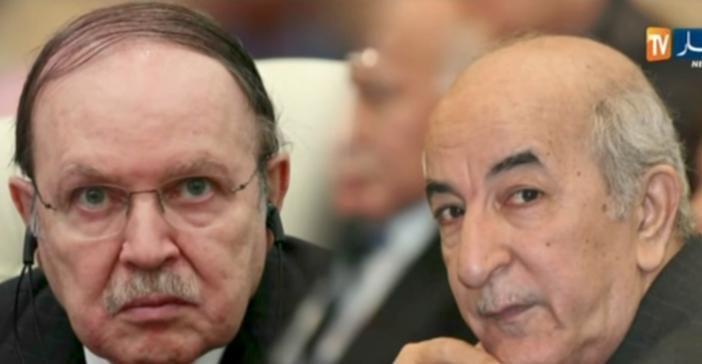 Le président Bouteflika et l'éphémère premier ministre Tebboune