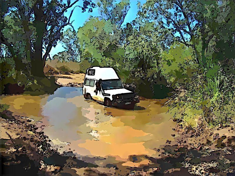 Gibb River Road : du gravier et des crocos
