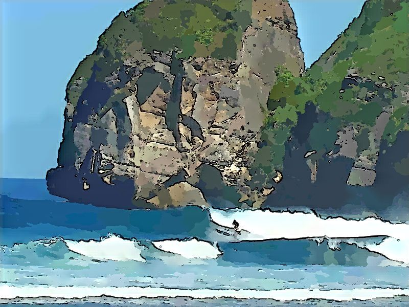 Sekongkang, surfing paradise