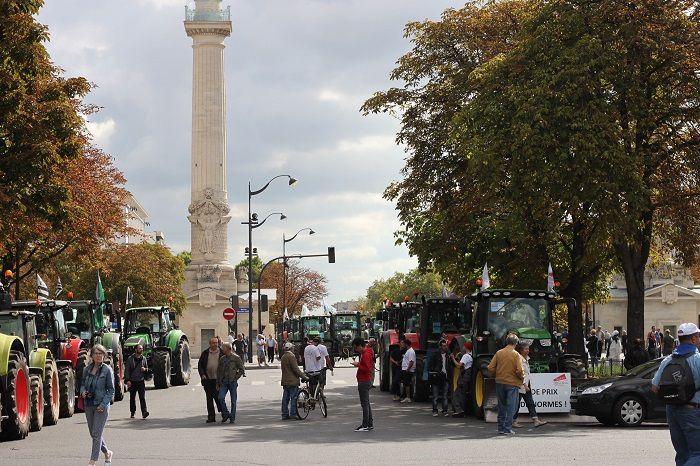 1700 tracteurs à Paris... 3 septembre 2015