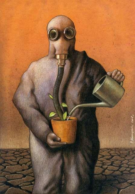 Illustration : Pawel Kuczynski (http://www.pawelkuczynski.com)
