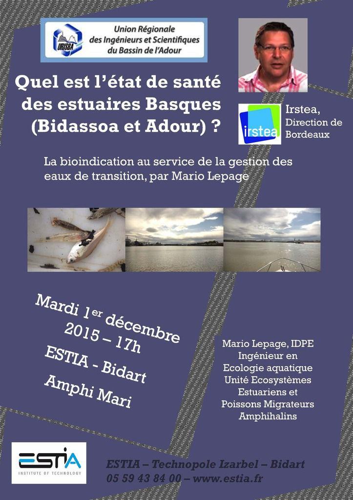 Quel est l'état de santé des estuaires basques (Bidassoa et Adour)