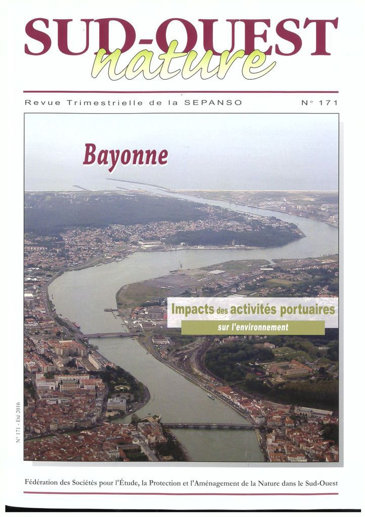 Bayonne : Impacts des activités portuaires sur l'environnement