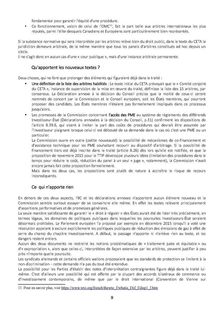 « Nouveau CETA » ou mystification ? Décryptage du « paquet » CETA signé le 30 octobre