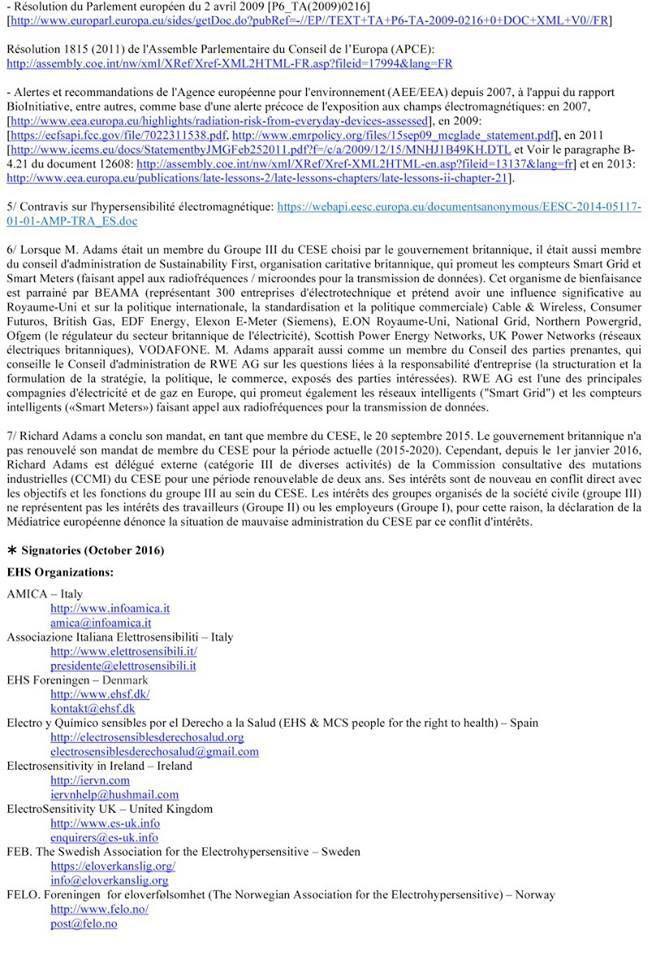 Des conflits d'intérêts et des pratiques condamnables au Comité Economique et Social Européen (CESE)