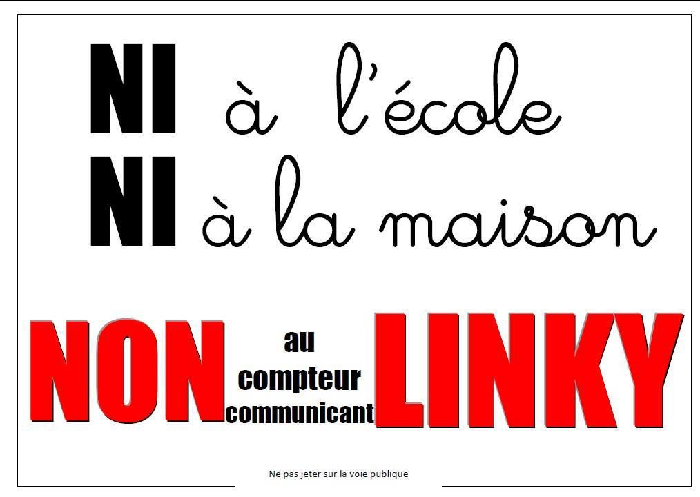 Inacceptable collusion de l'Education nationale avec Enedis et son compteur Linky