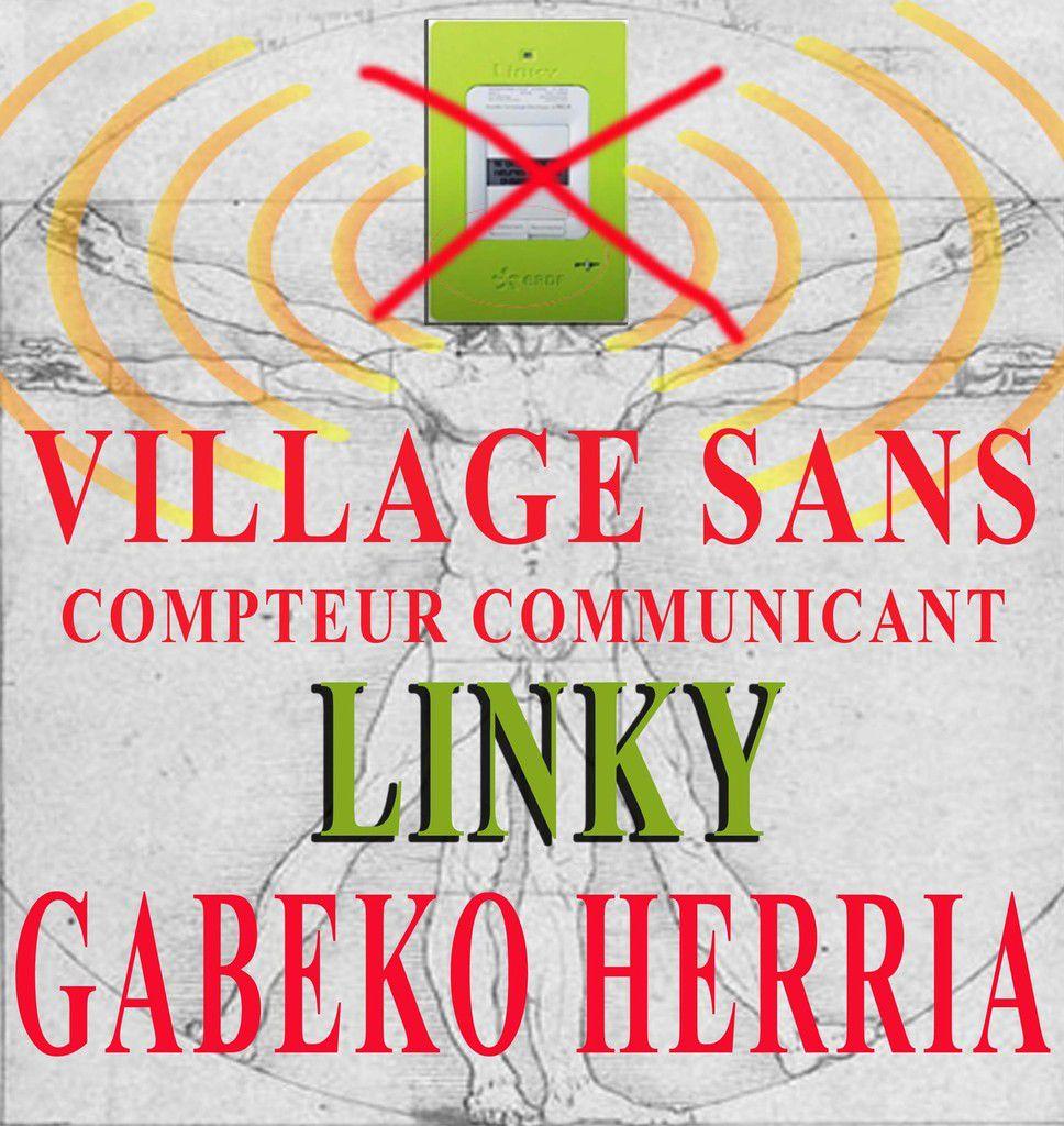 Proposition de Linkyrikez : les villages qui délibèrent contre l'installation des compteurs communicants l'affichent aux entrées de l'agglomération