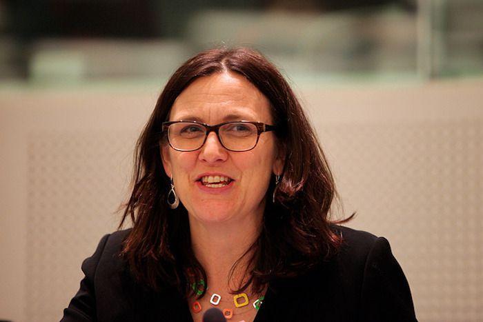 La commissaire européenne au commerce, Cecilia Malmström (ici en 2015).