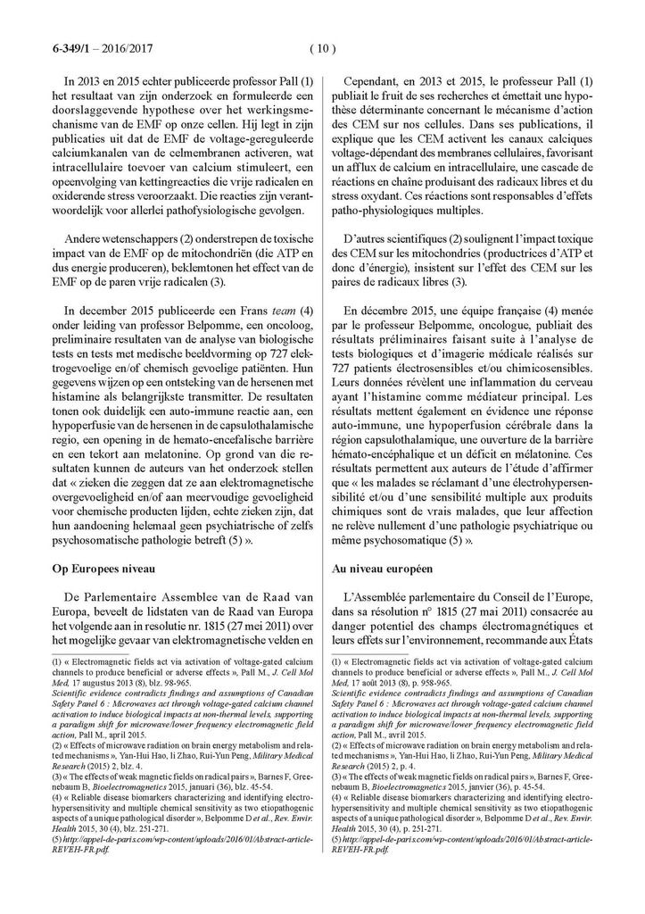 Après la Suède et le Royaume-Uni, la Belgique reconnaît l'électro-sensibilité