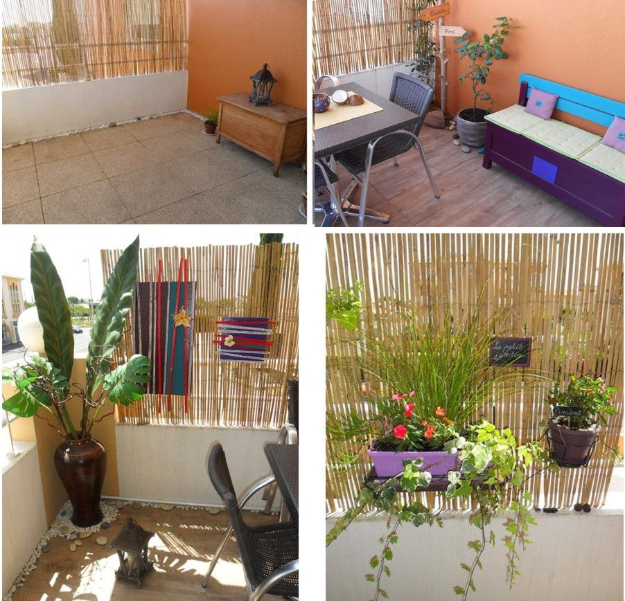 D corer une petite terrasse d 39 appartement for Decoration balcon d appartement
