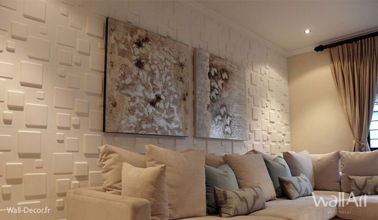 Decoration mur interieur - Idee habillage mur interieur ...