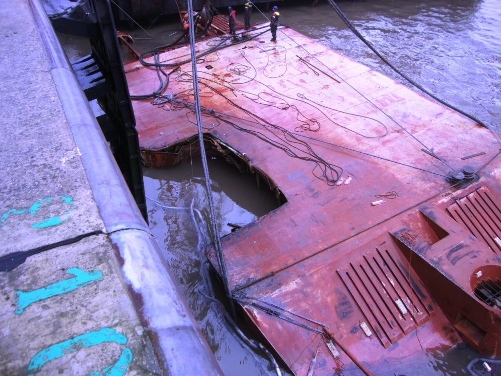 The salvage of the DN31