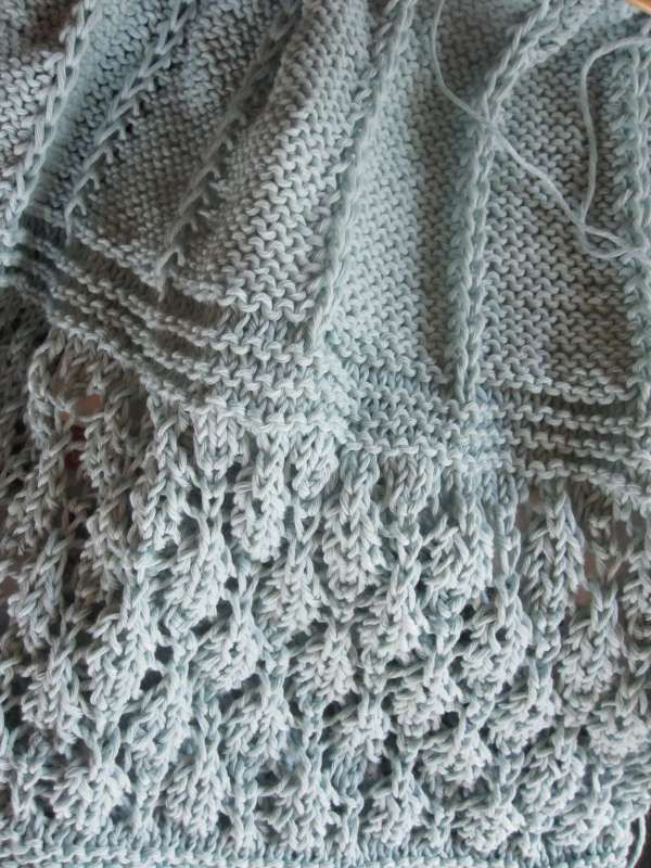Les laines du début de l'été...
