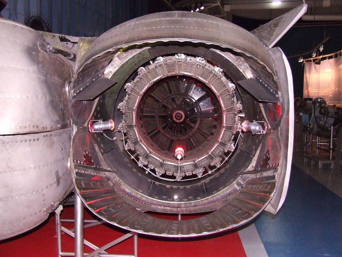 Concorde et ses moteurs.
