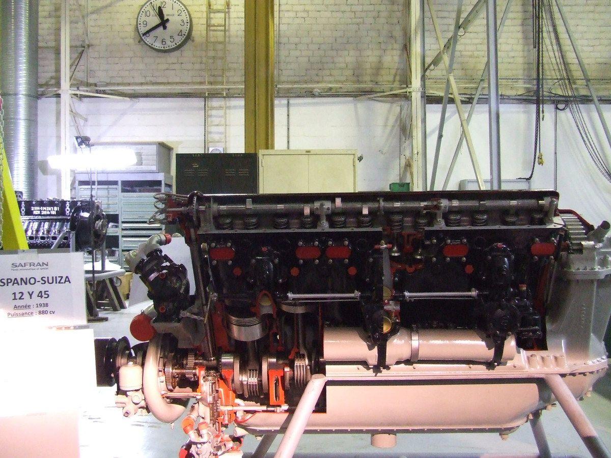 Le moteur Hispano Suisa 12Y45 du D-520