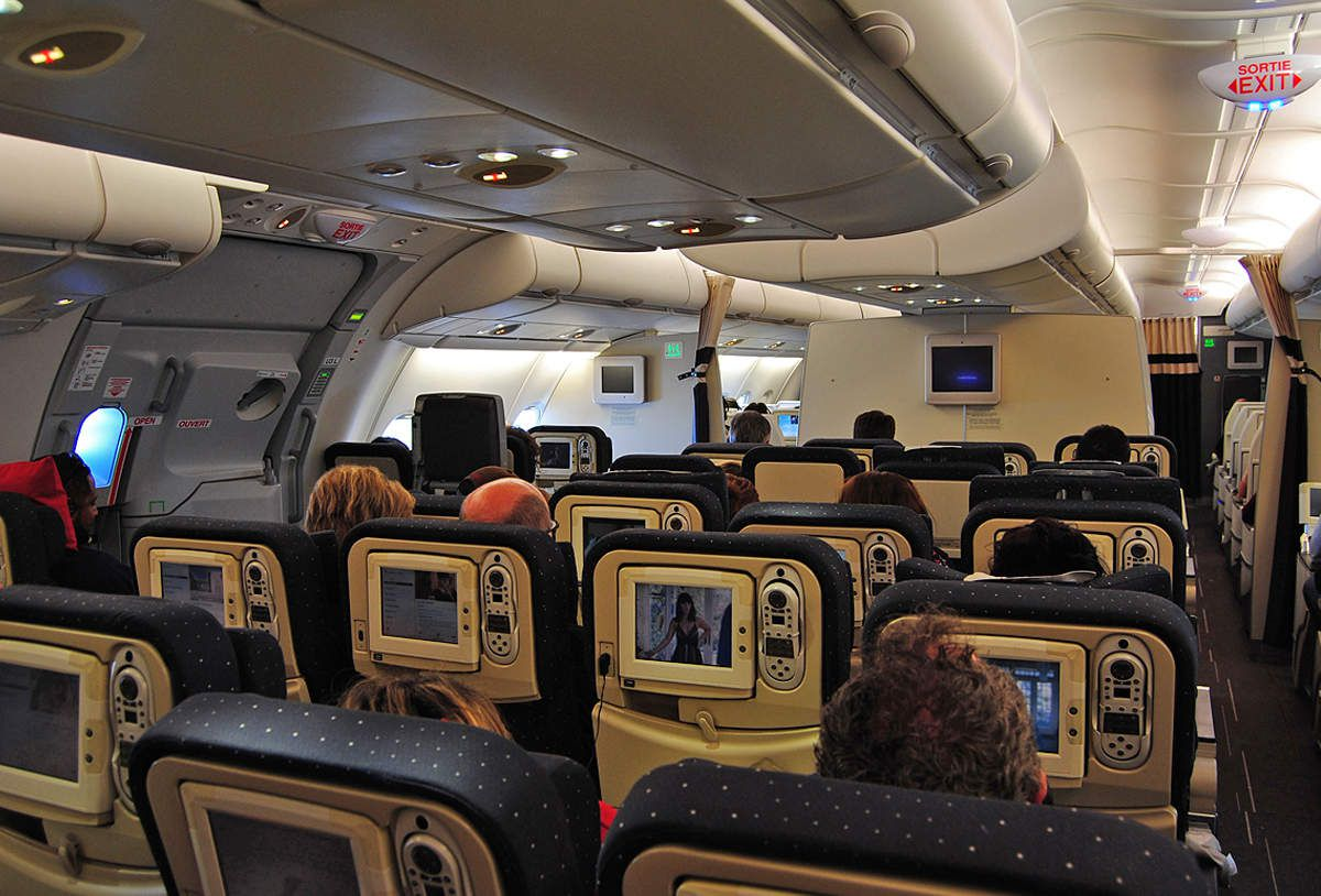 Boeing 747 fin de carri re air france for Avion 747 interieur