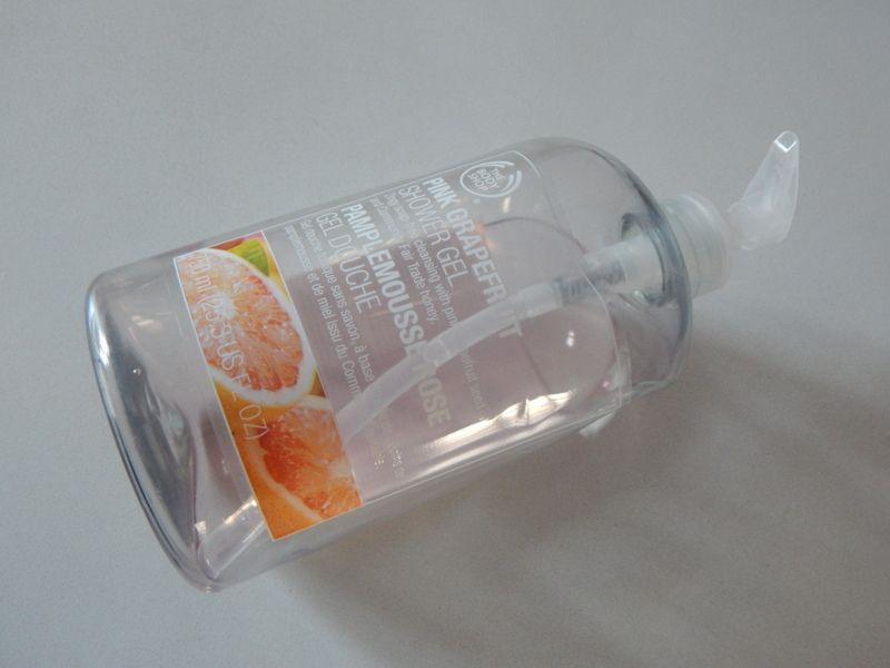 [ The Body Shop ] Gel douche au pamplemousse rose