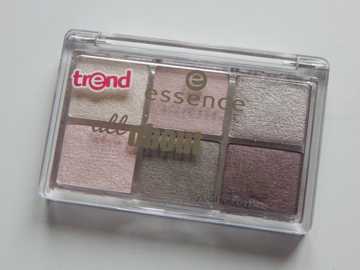 [ Essence ] All About Nude eyeshadow ( concours )